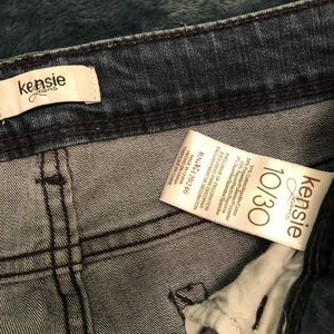 Kensie Jeans - Kensie Embroidered Skinny Jeans